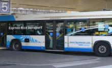 airport bus to Antibes
